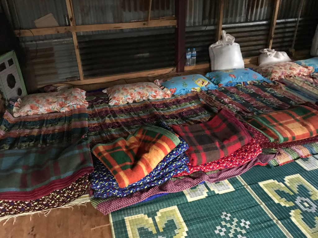 Homestay sleeping area