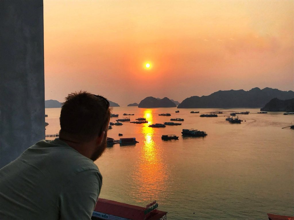 Cat Ba Sunset