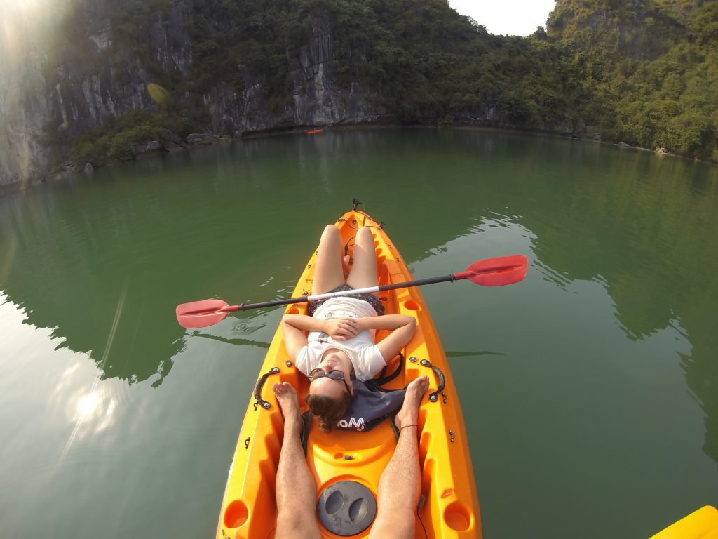 Floating village kayaking 2