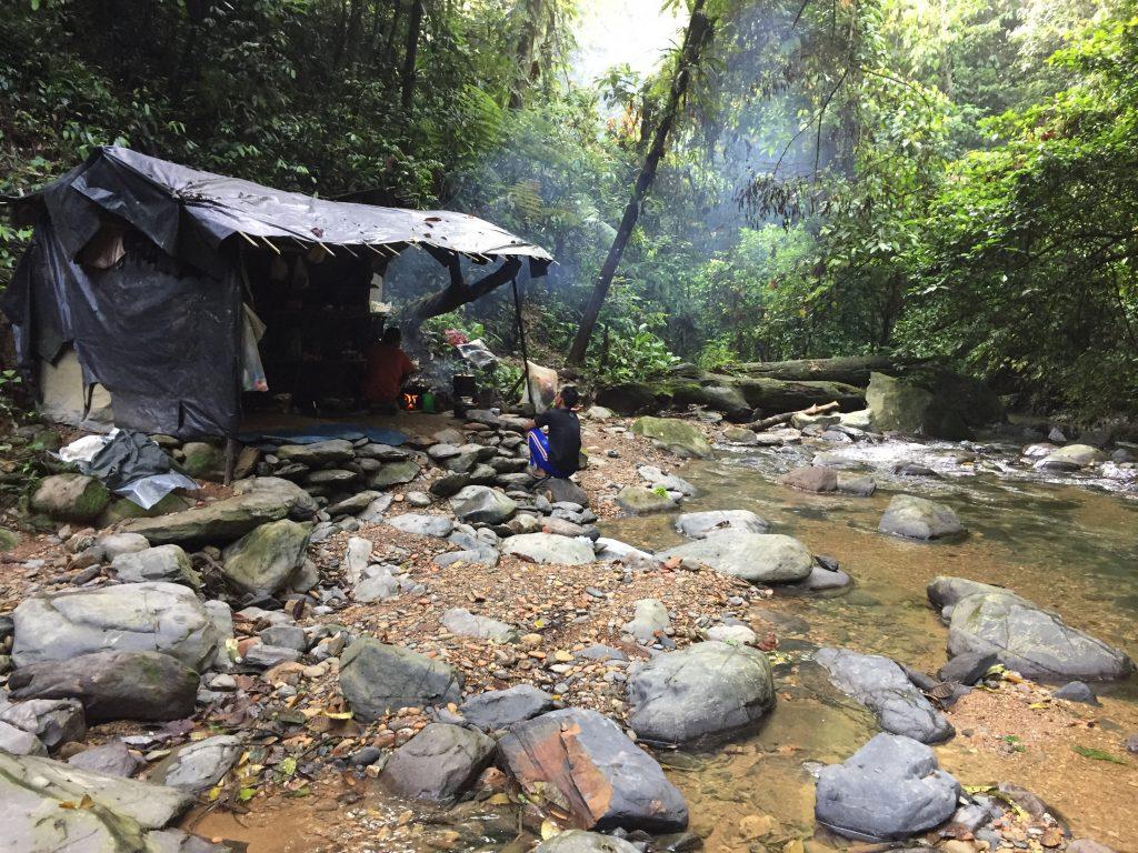 Gunung Leuser campsite